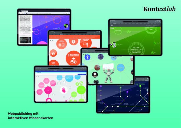 Partnerschaft Kontextlab und Legal by Design, interaktive Wissenslandkarten